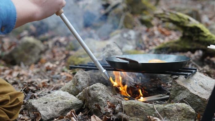 鉄製フライパンの焦げ付きや手入れや洗い方