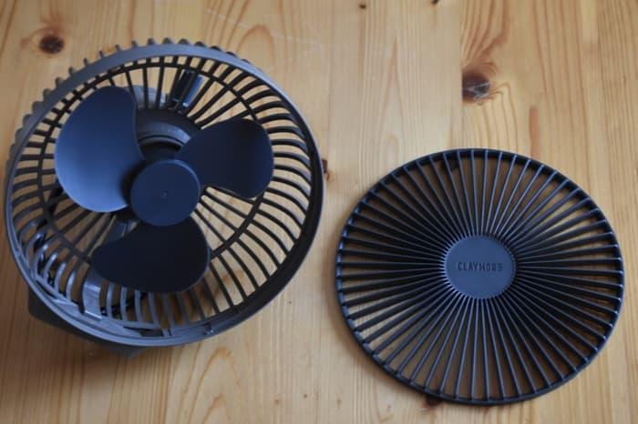 クレイモアFAN V600扇風機の掃除や手入れ