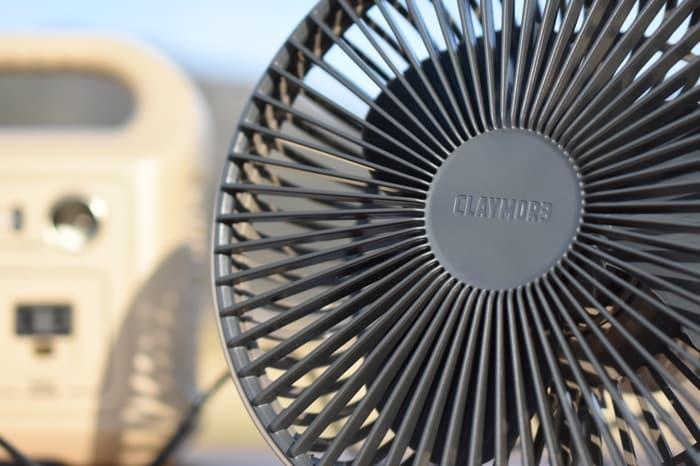 クレイモア扇風機CLAYMORE FAN V600のレビュー