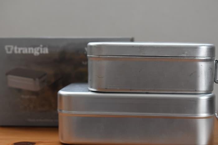trangia(トランギア)メスティンのサイズや特徴