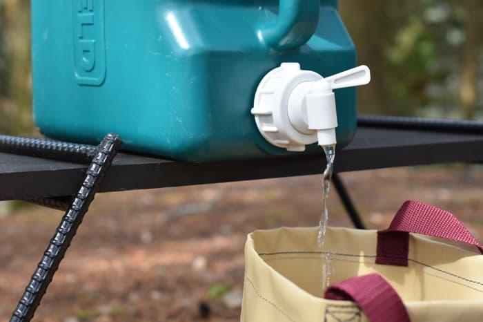 キャンプにおすすめの水用タンク