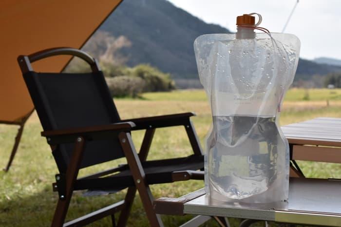 折りたたみ水タンク