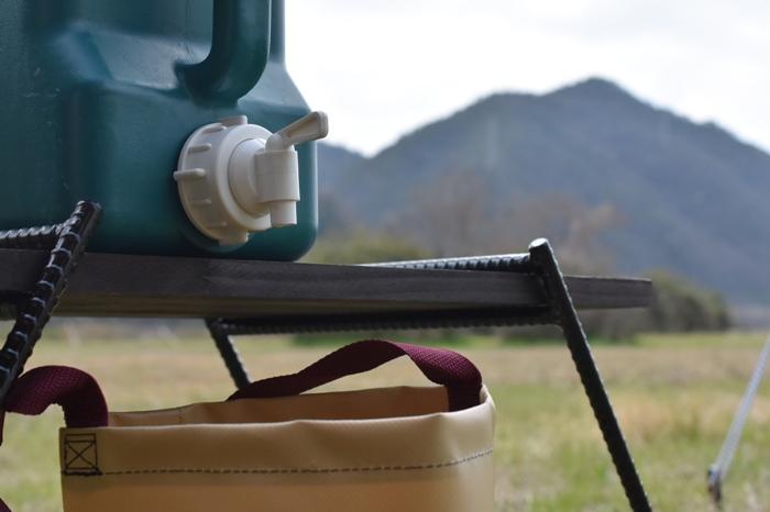 キャンプの水用タンクのまとめ