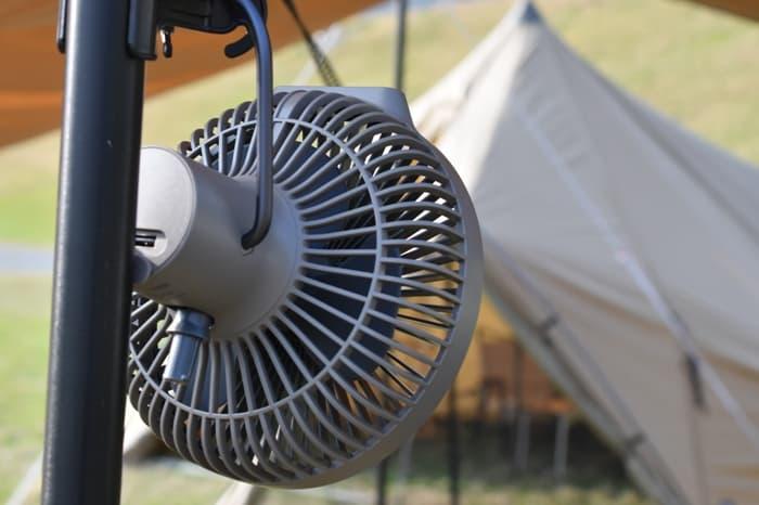 クレイモアFAN V600扇風機の使い方