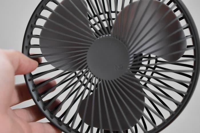 ルーメナー扇風機の外し方