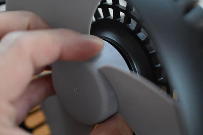 ルーメナー扇風機の外し方と掃除の仕方
