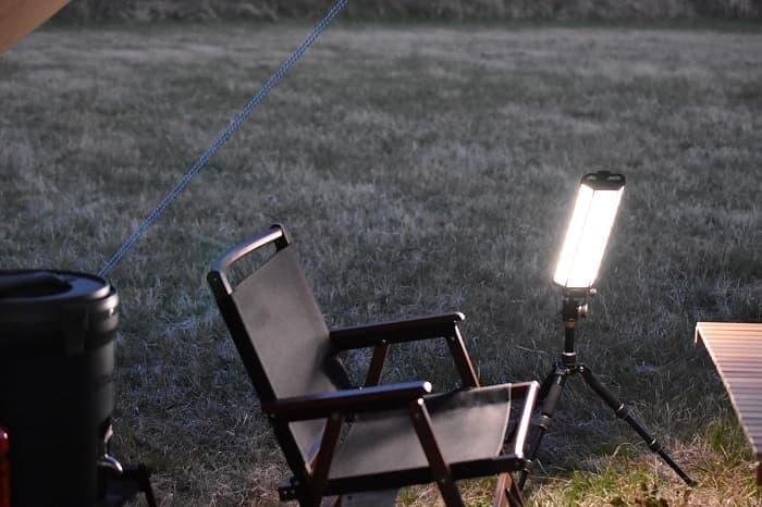 最強に明るいクレイモアランタン3FACE+の明るさ
