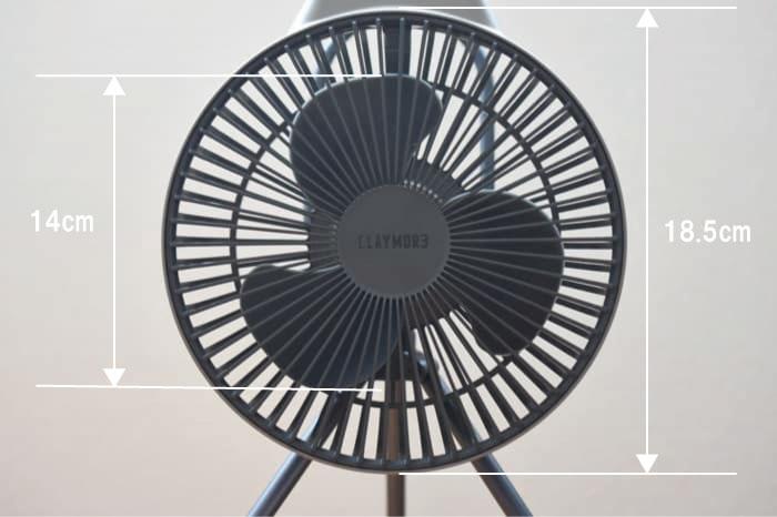 クレイモアFAN V600扇風機のブログ
