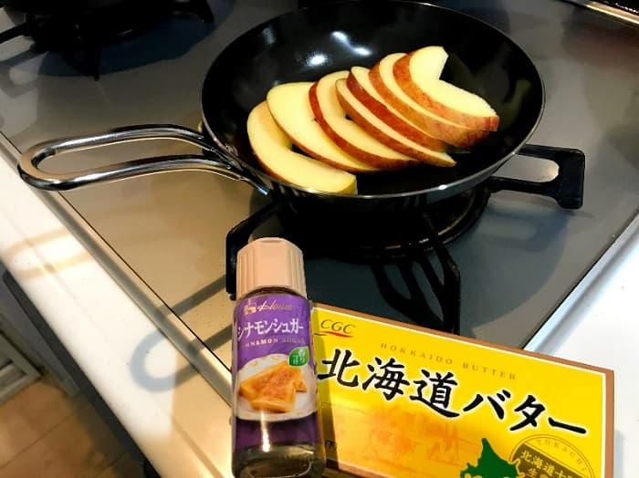 ちびパンを使ったキャンプの簡単料理レシピ