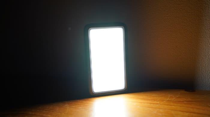 ルーメナー(LUMENA)2の明るさ