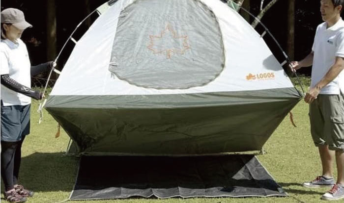 雨の日のテント・タープ雨風対策テクニック