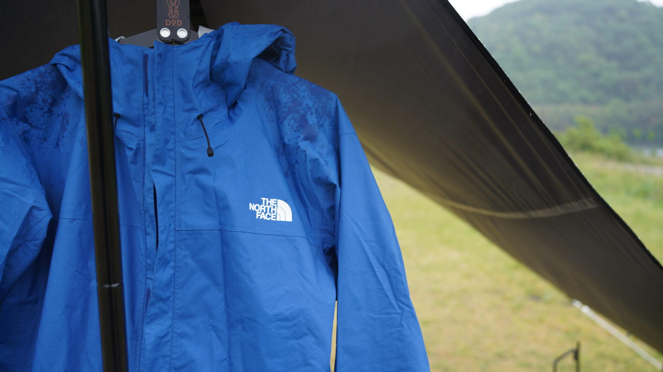 雨キャンプの必需品