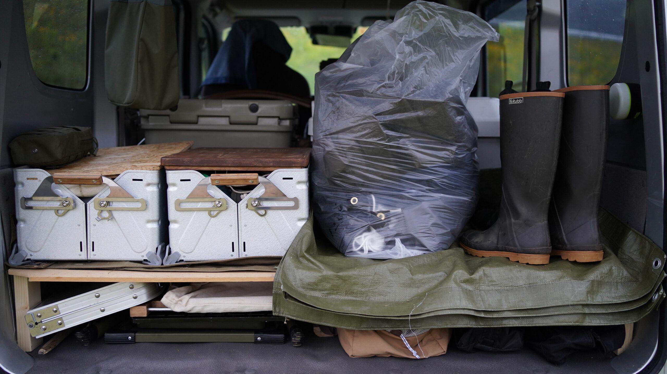 キャンプの雨対策と必需品のまとめ