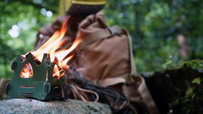 ミニ焚き火台
