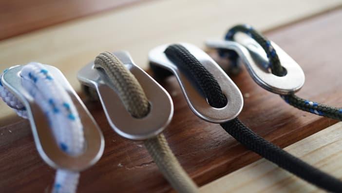 自在金具 ロープ