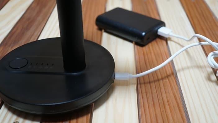 扇風機 モバイル充電