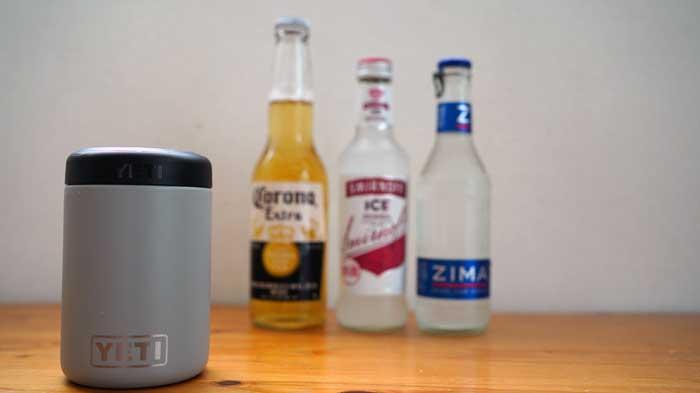 YETIランブラーコルスター2.0に瓶ビールを入れてみた