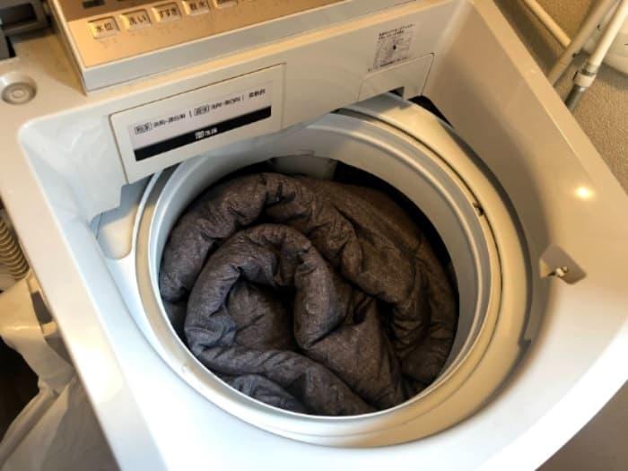 スノーピーク寝袋SSシングルの洗濯機での洗い方