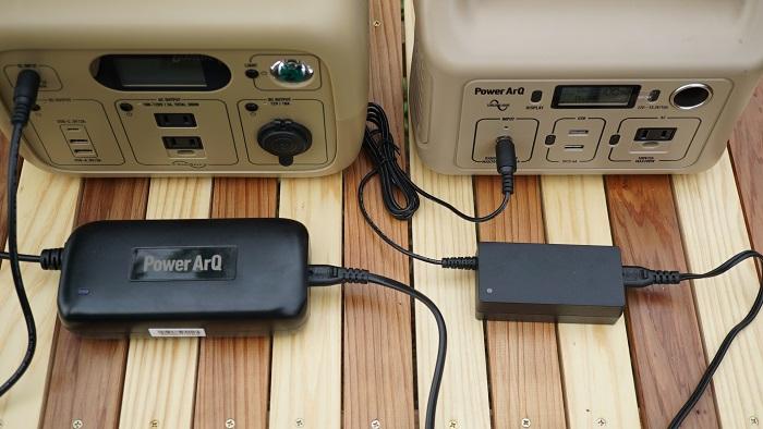 充電スピード ポータブル電源