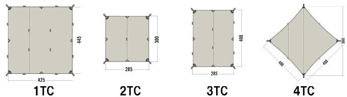 2021モデルのタトンカタープの種類とサイズの選び方