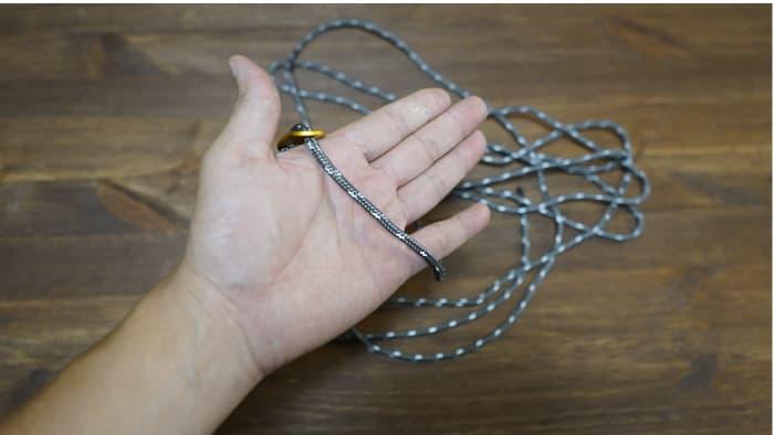 ガイロープ 棒結び