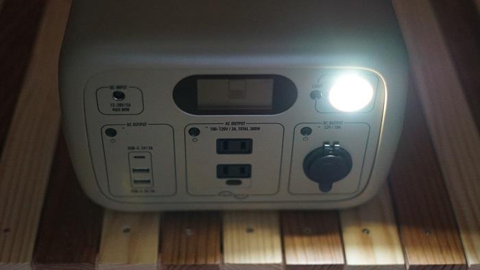 LEDライト ポータブル電源 必要
