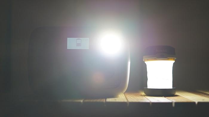 mini2 簡易LEDランタン