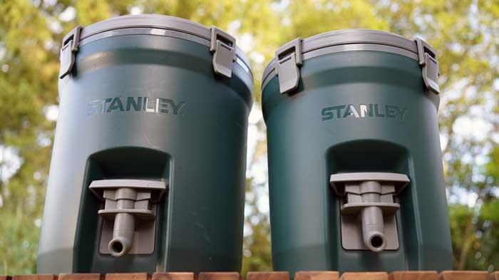 STANLEY(スタンレー)ウォータージャグ7.5Lと 3.5Lの比較