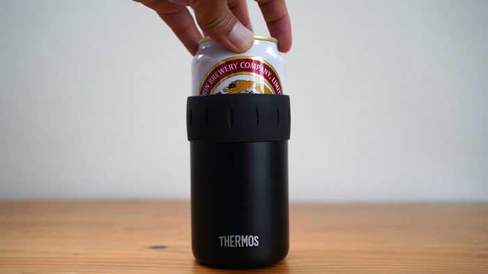 THERMOS保冷缶ホルダーJCB-352