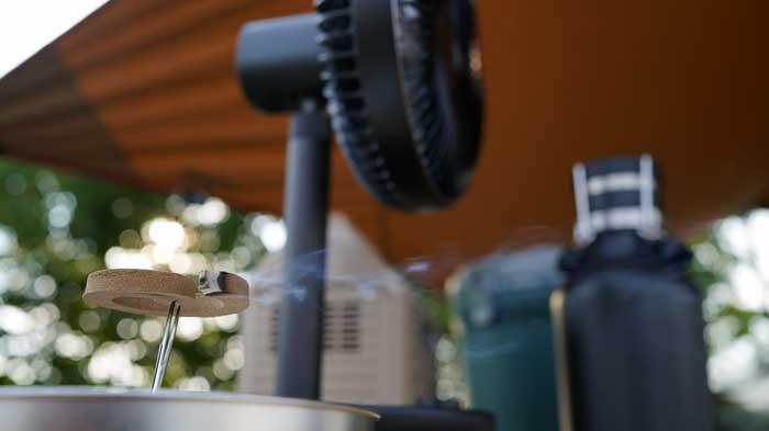 蚊取り線香の使い方と火の消し方