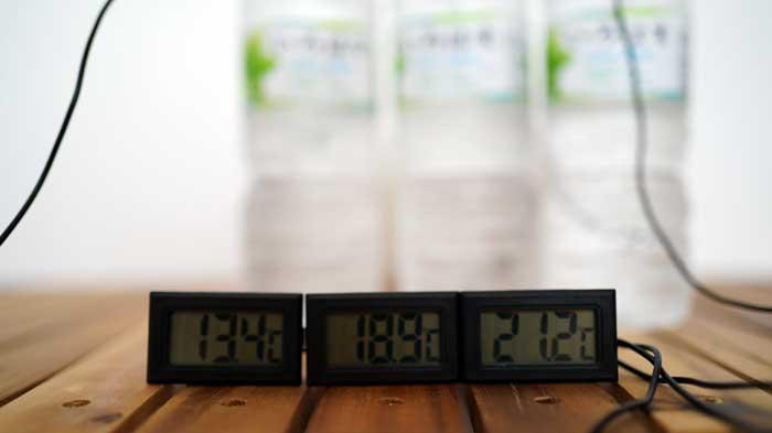 ダイソーの氷点下保冷剤の保冷力検証