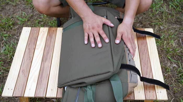 「野蔵」NOGURAの収納方法や折りたたみ方