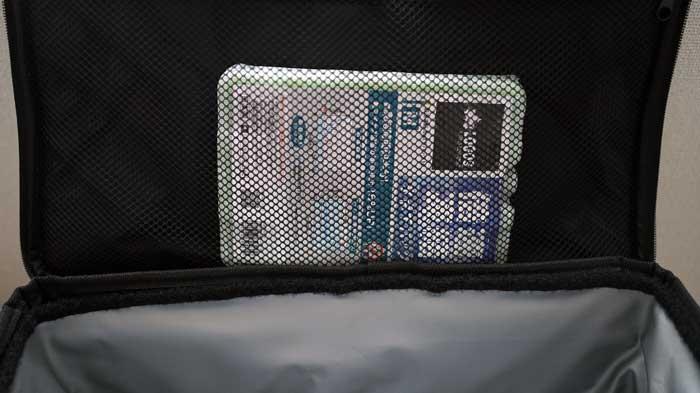 SOFT COOL(ソフトクール)2500の保冷力と保冷剤のサイズ選び
