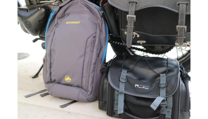 安いキャンプツーリング用バッグ