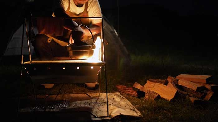 UNIFLAME(ユニフレーム)焚き火ベースsoloのレビューブログ