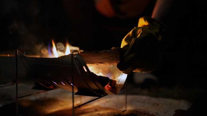 ベルモントの焚き火台TABIのレビュー