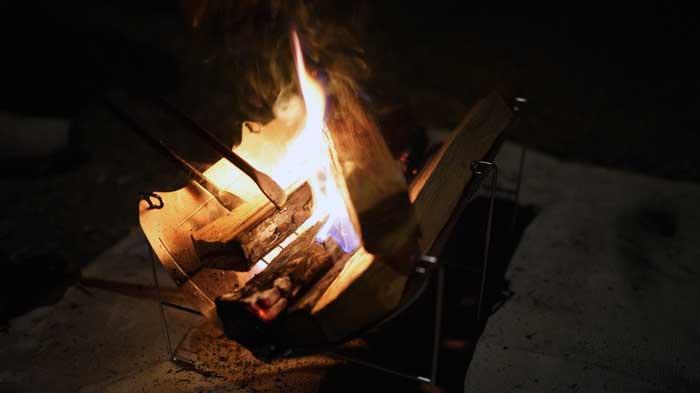 ベルモントの焚き火台TABIのデメリットや注意点