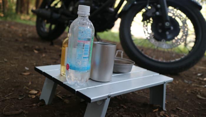 キャンプツーリングに最低限必要な道具や持ち物