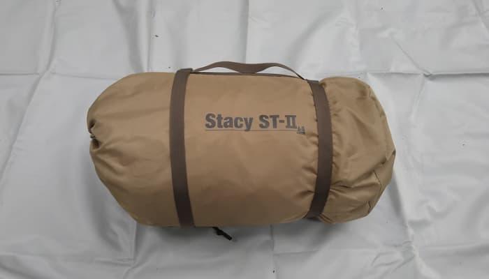 ステイシーST-Ⅱの設営手順や収納方法
