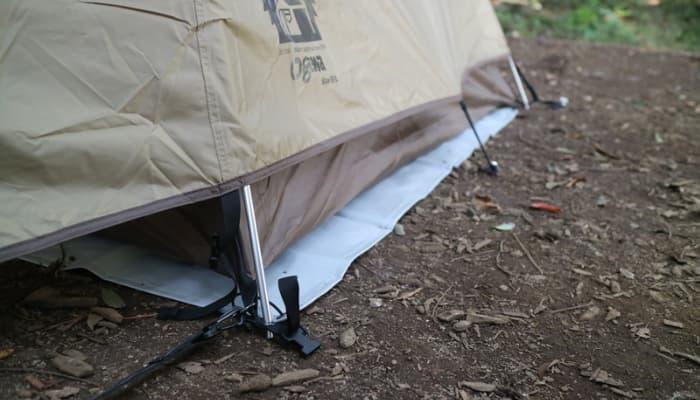 ステイシーST-Ⅱ冬キャンプの注意点
