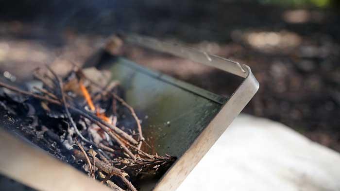 チタン焚き火台の耐久性
