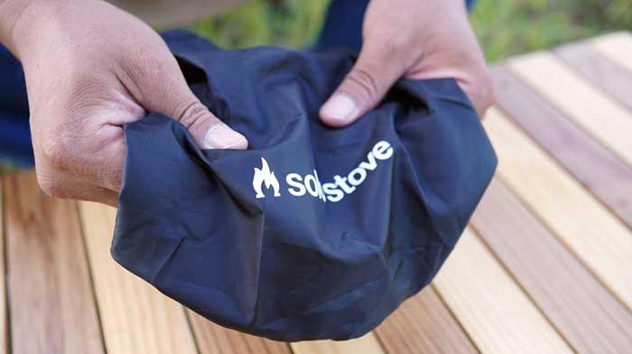 solo stove(ソロストーブ)の収納袋