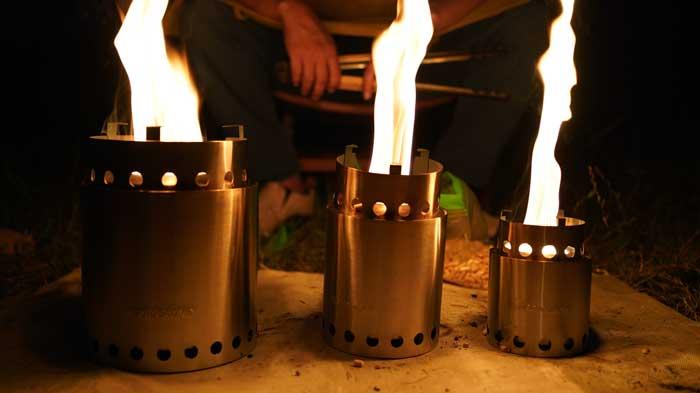 solo stove(ソロストーブ)をペレットで燃焼時間比較
