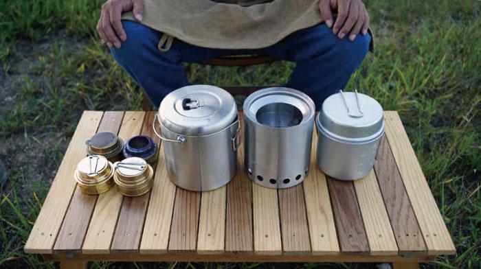 solo stove(ソロストーブ)のスタッキング